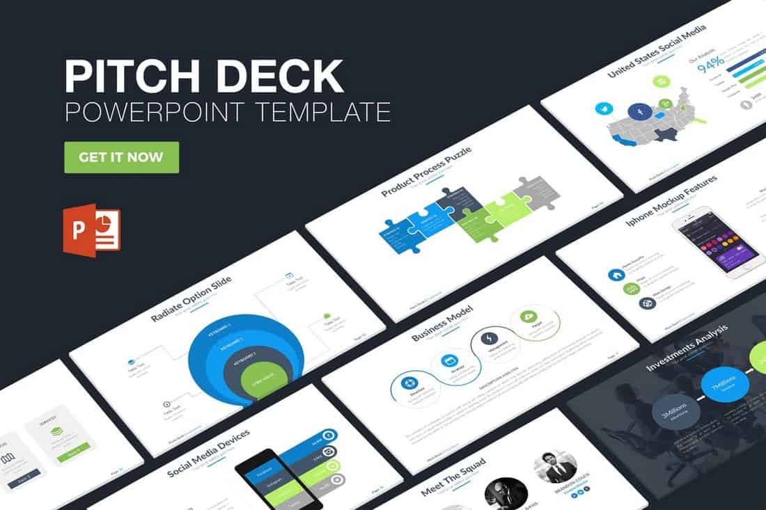 176016050f146e779a85f54c64e25633 20+ Best Startup Pitch Deck Templates for PowerPoint design tips
