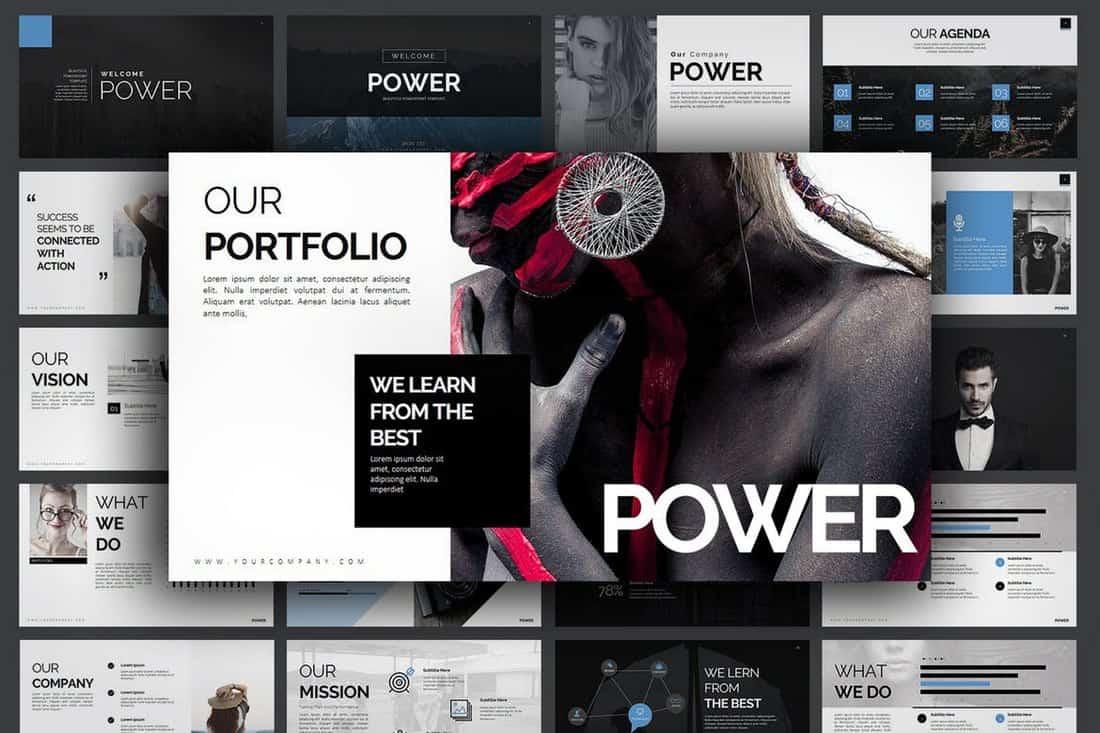 1d07d5cb4bdf867e08a4782fec0e3e72 10 Professional PowerPoint Templates (And How to Use Them) design tips