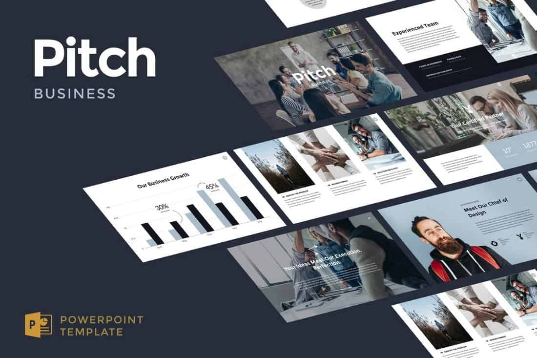 43e346e0756a516a82f31a98d8392e94 20+ Best Startup Pitch Deck Templates for PowerPoint design tips