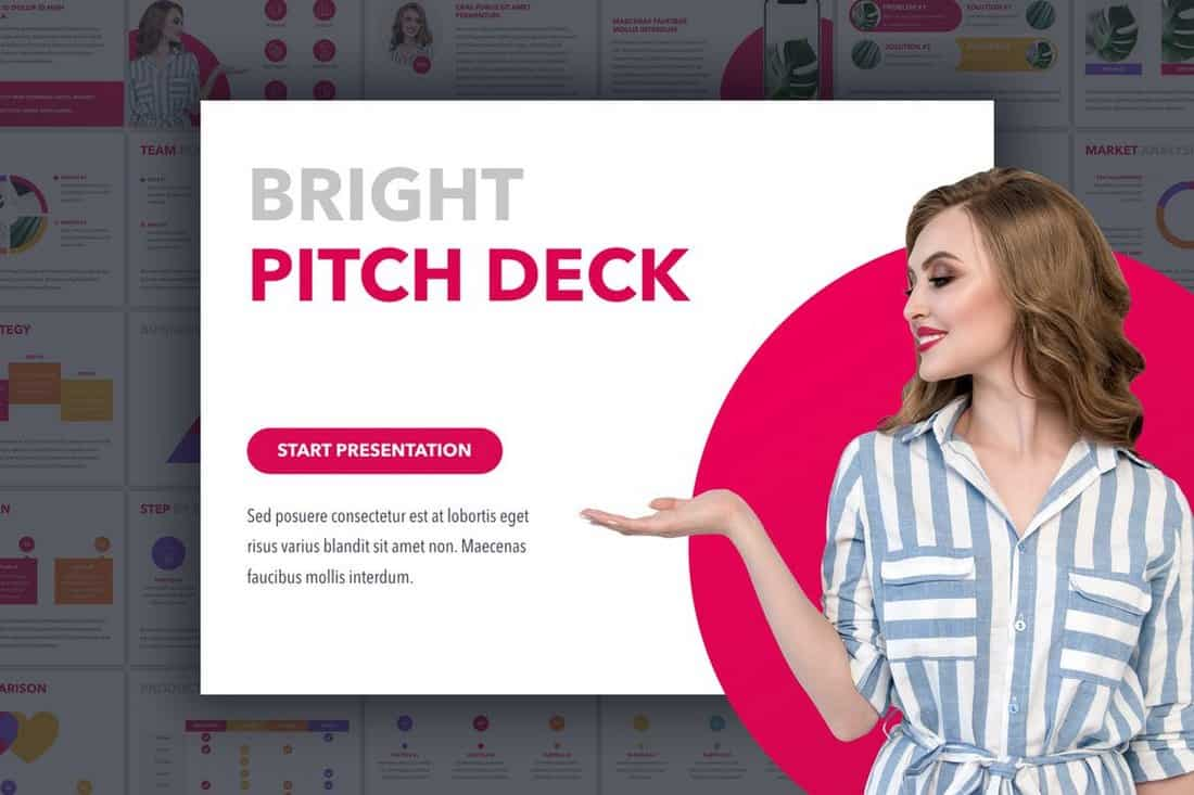 6846c923aa605c321f0daa0178f3c8dd 20+ Best Startup Pitch Deck Templates for PowerPoint design tips