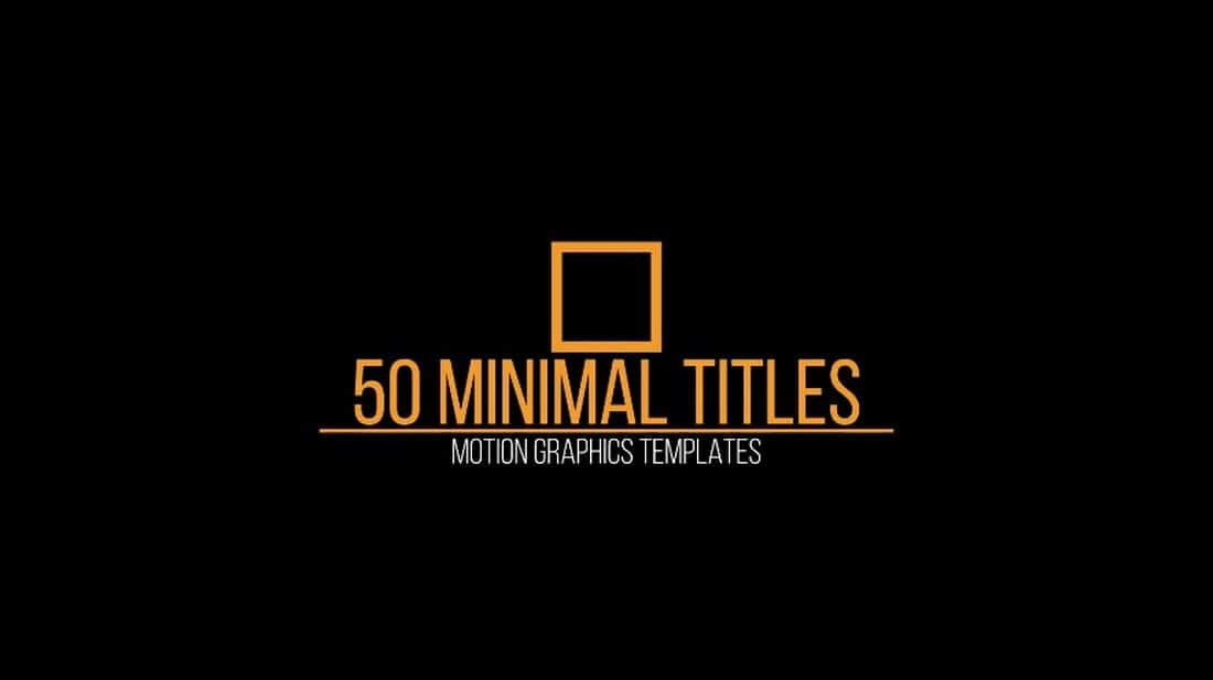 6c58529409af15aa5276f81be3938898 20+ Best Premiere Pro Animated Title Templates design tips