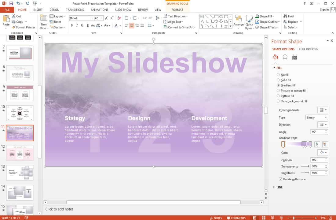 a44fd5081032371ff48583df467e77e5 10 Professional PowerPoint Templates (And How to Use Them) design tips
