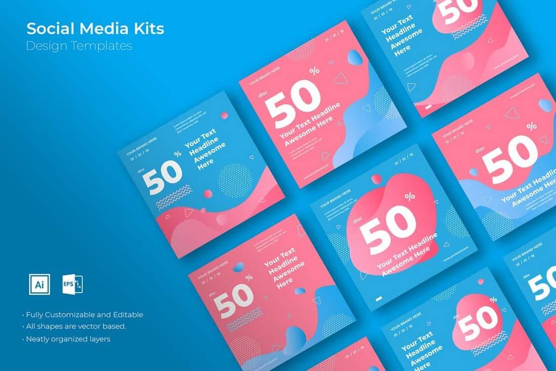 b69f9cdd93520e5aa5bada0324eda2b5 30+ Best Instagram Post & Story Templates 2019 design tips