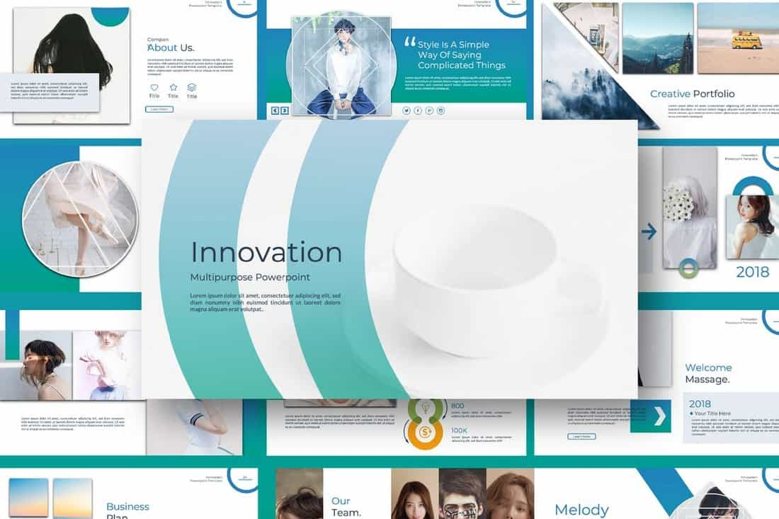 be3946058a163b6128660dc5121168dc 10 Professional PowerPoint Templates (And How to Use Them) design tips