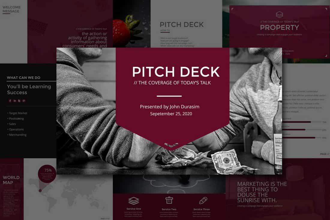 c51711d0ff4527649076d7e20eeb2987 20+ Best Startup Pitch Deck Templates for PowerPoint design tips