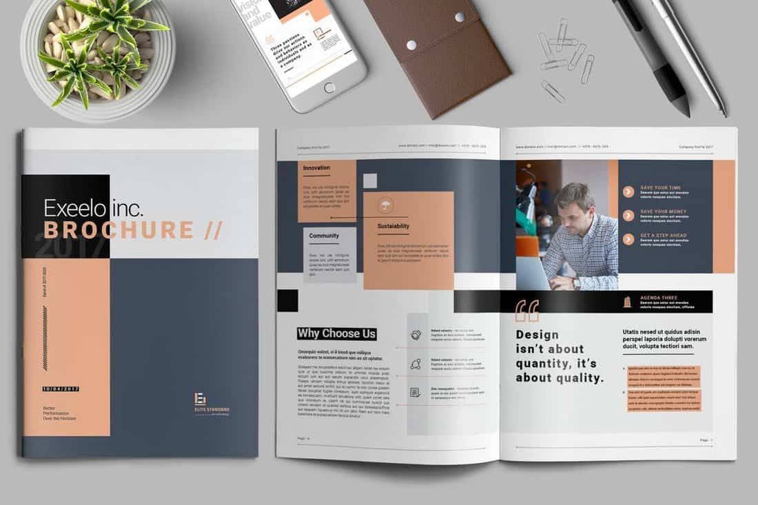 dceacf40a9d758f52aba186f941cf142 25+ Best InDesign Brochure Templates design tips
