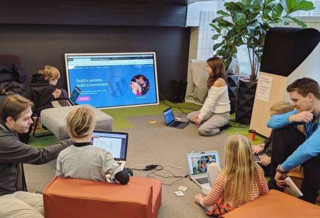e0e70774fd6c2dce78fcb6afdfd08d06 WordCamp Nordic Hosts Successful Kids Workshop design tips  Events News kids workshop WordCamp Nordic