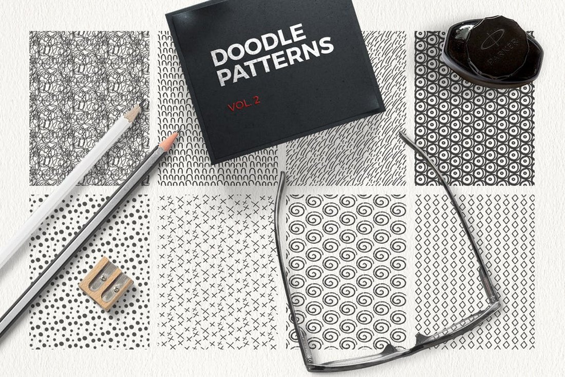 ad051bf54f1d4b44acd25a477f11fdd3-3 40+ Best Photoshop Patterns of 2019 (Free & Pro) design tips