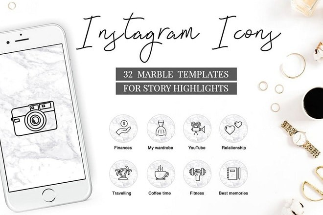 instagram-highlight-icons 20+ Best Instagram Story Highlight Icons (Free + Pro) design tips