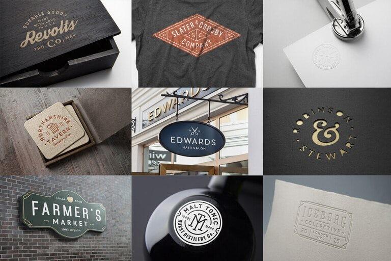 logo-mockups 100+ Logo Mockup Templates (PSD & Vector) design tips