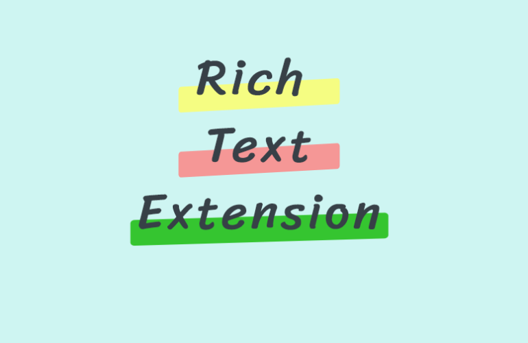 richtext-extension-featured-770x500 Highlight, Underline, and Control Font Size with RichText Extension design tips