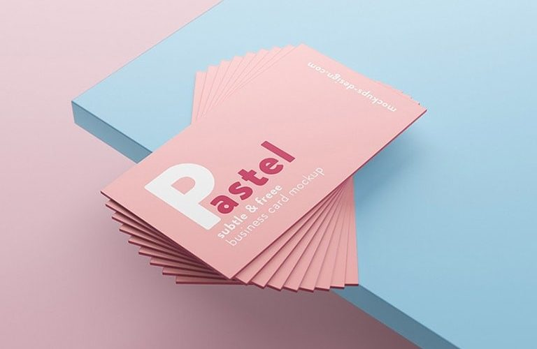 free-business-card-mockups-768x500 20+ Business Card Mockup Templates (Free & Premium) design tips
