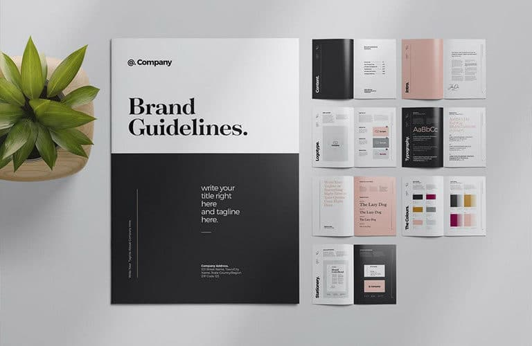 brand-style-guide-template-768x500 20+ Best Brand Manual & Style Guide Templates 2020 (Free + Premium) design tips