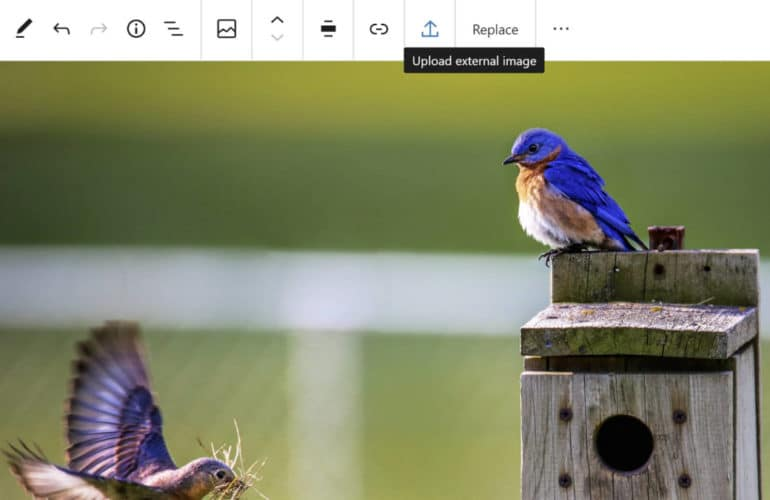 gb-upload-external-image-770x500 Gutenberg 8.5 Adds Single Gallery Image Editing, Allows Image Uploads From External Sources, and Improves Drag and Drop design tips