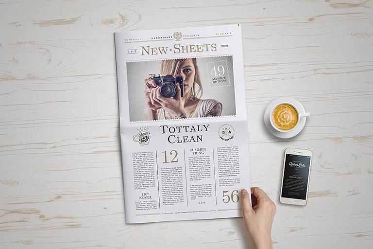 newspaper-mockup 20+ Newspaper Mockup Templates (Free & Pro) design tips