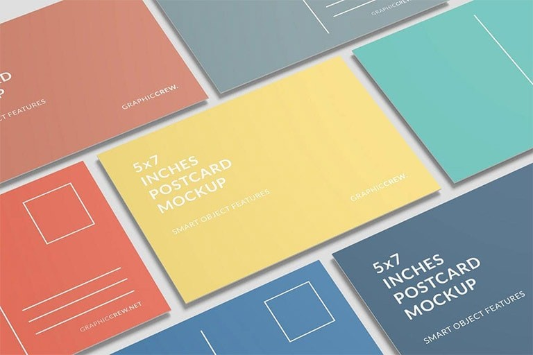 postcard-mockup-1 20+ Postcard Mockup Templates (Free & Pro) design tips