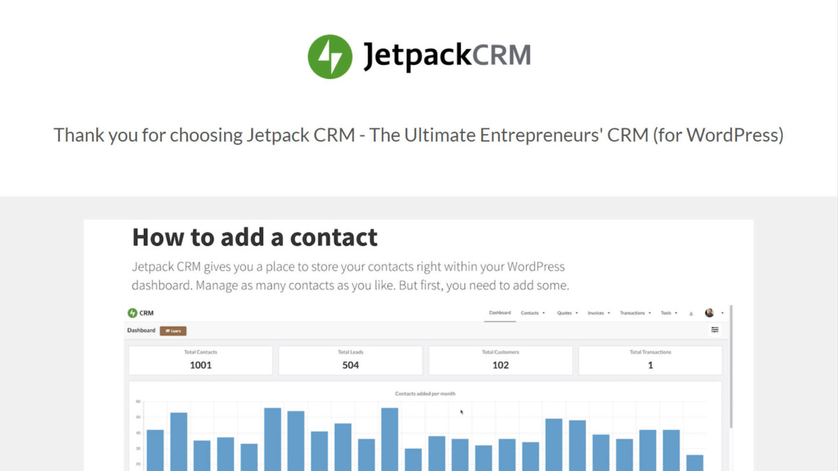 jetpack-crm Zero BS CRM Rebrands and Relaunches as Jetpack CRM design tips