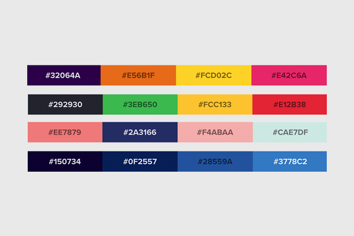 website-color-schemes 50 Best Website Color Schemes of 2020 design tips