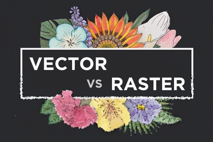 vector-vs-raster Vector vs. Raster: What Do I Use? design tips