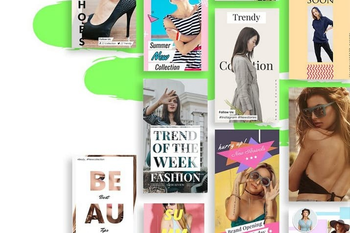 instagram-post-story-templates 35+ Best Instagram Post & Story Templates 2020 design tips