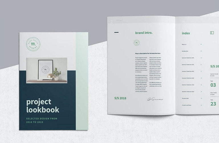 lookbook-catalog-templates-768x500 22+ Best Lookbook & Catalog Templates (Free & Premium) design tips