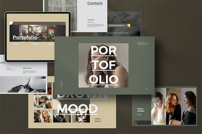 powerpoint-portfolio-templates 25+ Best PowerPoint Portfolio Templates 2020 design tips