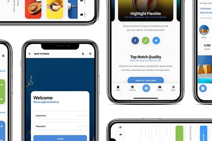 progressive-web-app-templates 10+ Best Progressive Web App (PWA) Templates 2020 design tips