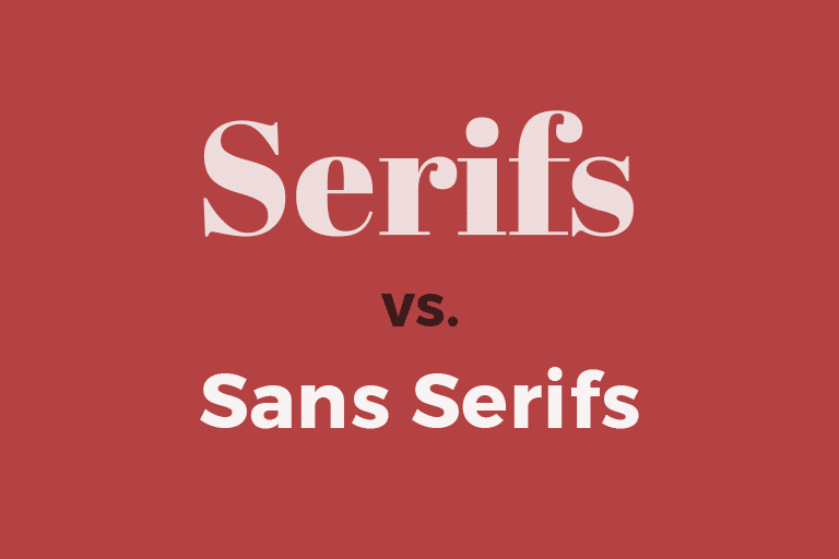 serif-vs-sans-serif Serif vs. Sans Serif Fonts: Is One Really Better Than the Other? design tips