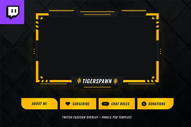 twitch-overlay-templates 15+ Best Twitch Stream Overlay Templates in 2020 (Free & Premium) design tips