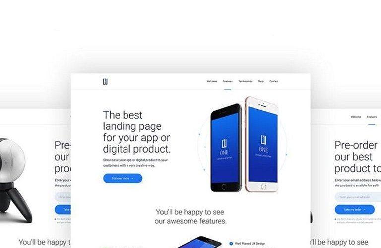 best-app-landing-page-templates-768x500 50+ Best App Landing Page Templates 2021 design tips