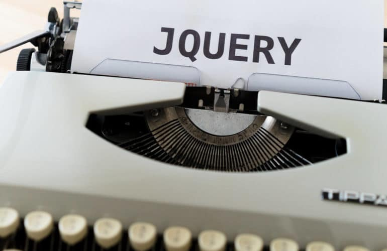 jquery-typewriter-770x500 WordPress 5.6 Will Ship With Another Major jQuery Change design tips