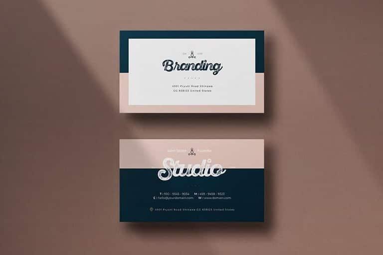 modern-business-card-templates 25+ Best Modern Business Card Templates 2021 (Word + PSD) design tips