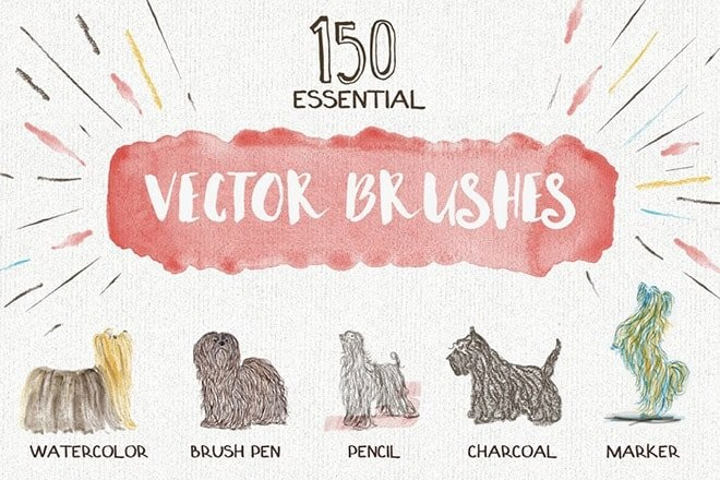 free-illustrator-brushes 25+ Best Free Adobe Illustrator Brushes 2021 design tips