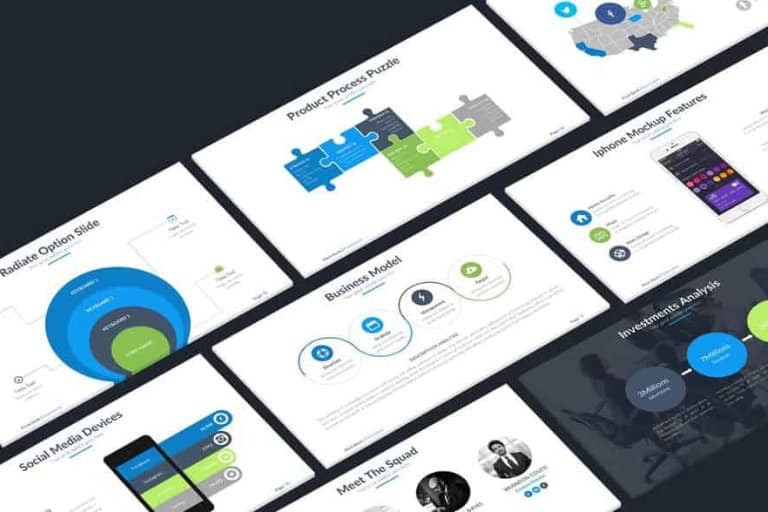 pitch-deck-templates 30+ Best Startup Pitch Deck Templates for PowerPoint 2021 design tips
