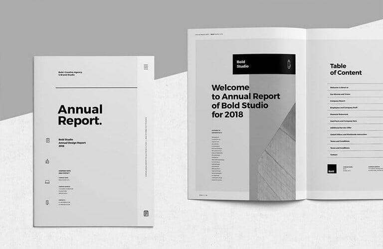 annual-report-templates-1-768x500 50+ Annual Report Templates (Word & InDesign) 2021 design tips