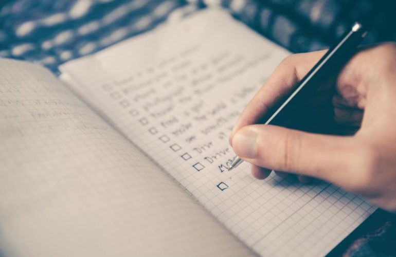 checklist-770x500 WordPress Community Team Proposes Using a Decision Checklist to Restart Local Events design tips