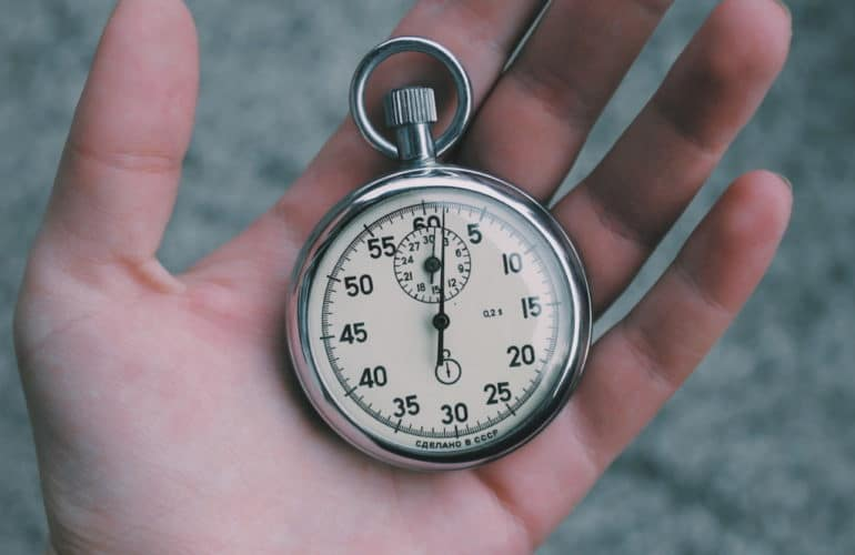 stopwatch-770x500 Gutenberg's Faster Performance Is Eroding Page Builders' Dominance design tips