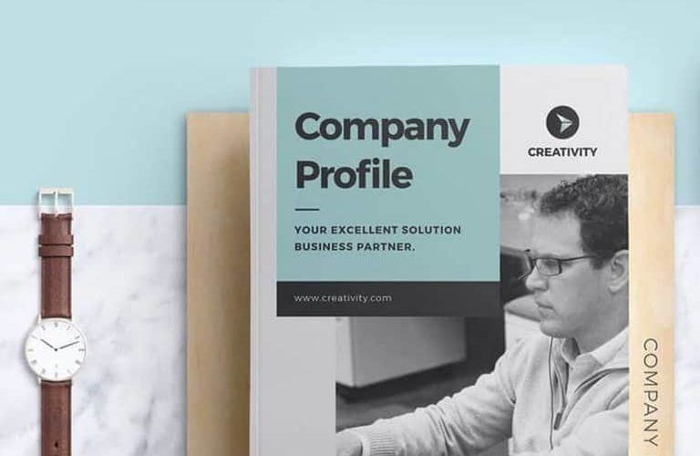 company-profile-template-768x500 40+ Best Company Profile Templates (Word + PowerPoint) design tips
