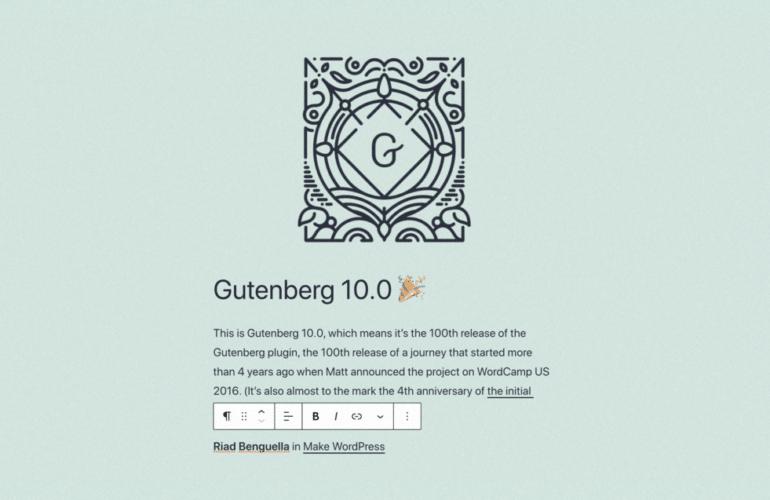 gutenberg_today_4-770x500 Reflecting on Gutenberg's 100th Release WPDev News