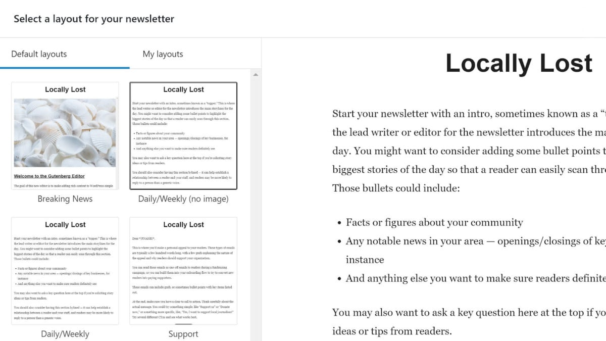 newspack-newsletters-featured Newspack Newsletters Now Live in the WordPress Plugin Directory design tips