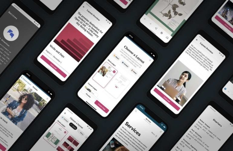 starter-page-layouts-featured-image-770x500 Build a Beautiful Site in the WordPress Mobile Apps with Predesigned Page Layouts WordPress