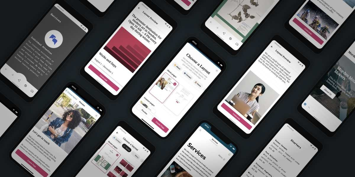 starter-page-layouts-featured-image Build a Beautiful Site in the WordPress Mobile Apps with Predesigned Page Layouts WordPress