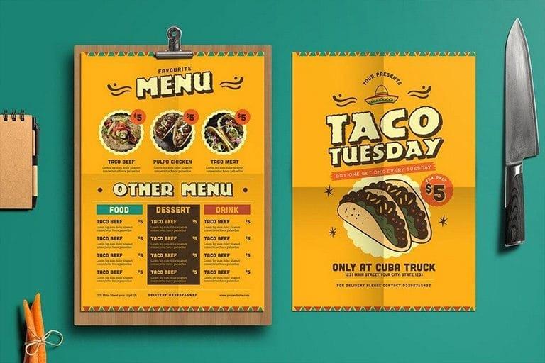 best-food-drink-menu-templates 50+ Best Food & Drink Menu Templates 2021 design tips