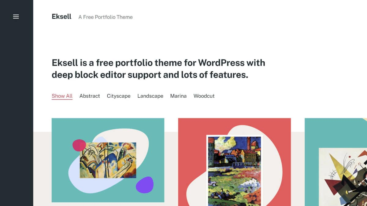eksell-theme-featured Compatibility Is Not Enough: The Eksell WordPress Theme Creates Art With Blocks design tips