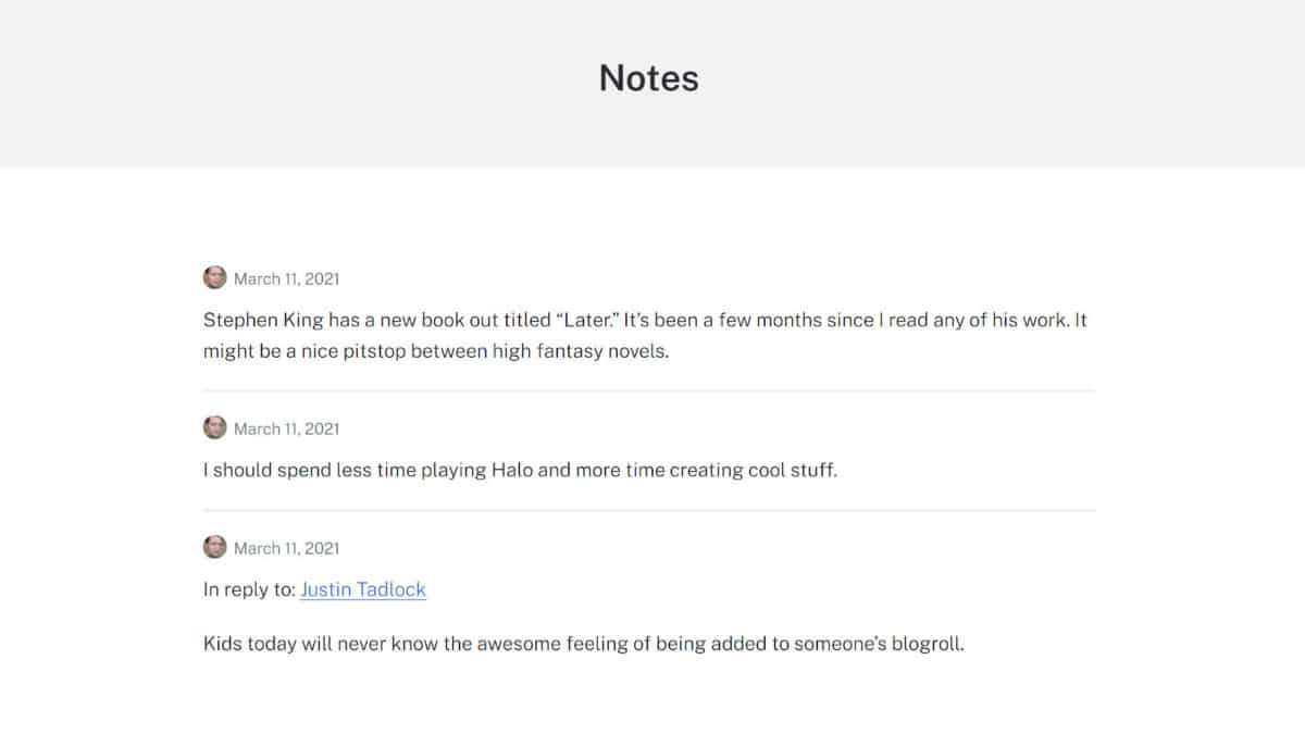 shortnotes-archive Publish Text, Image, and Gallery Snippets With the Shortnotes WordPress Plugin design tips