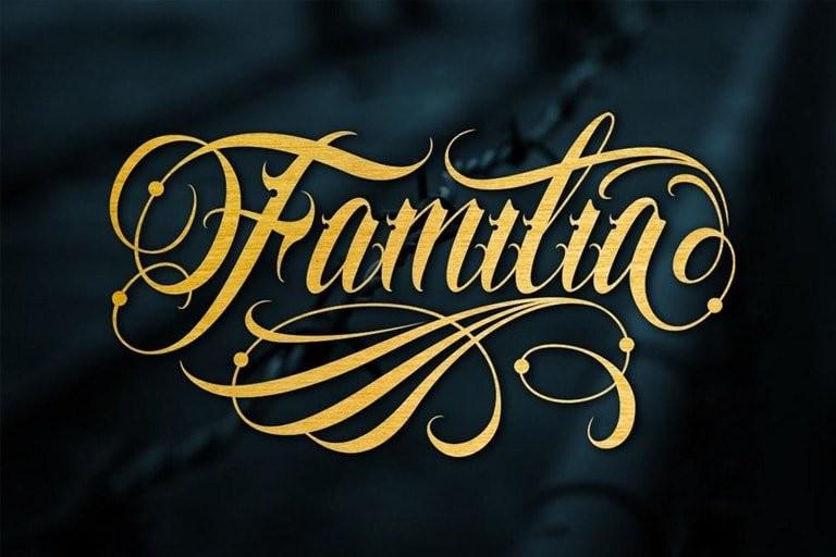 tattoo-fonts-2 30+ Best Tattoo Fonts & Lettering 2021 design tips