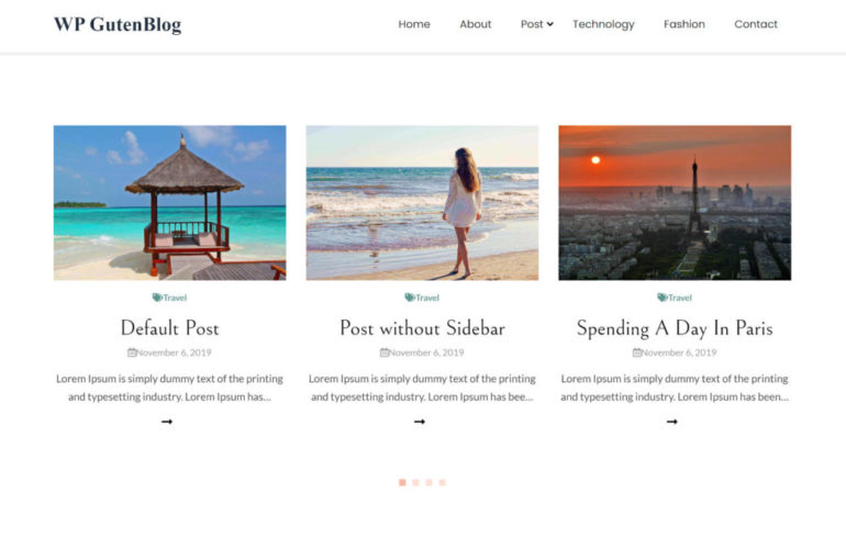 guten-blog-featured-770x500 With Some Hits and Misses, the Guten Blog WordPress Theme Has Potential design tips