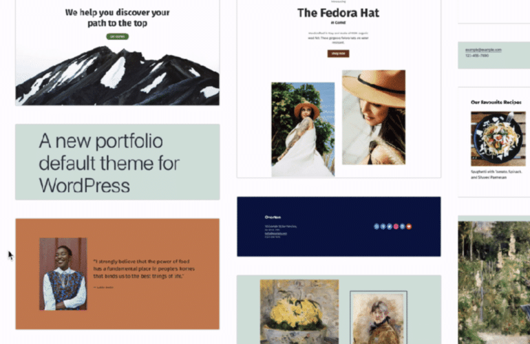 pattern-directory-770x500 First Look at Initial Designs for WordPress' Block Pattern Directory design tips