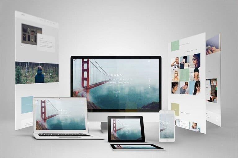 responsive-website-app-templates 30+ Best Responsive Website & App Mockup Templates design tips
