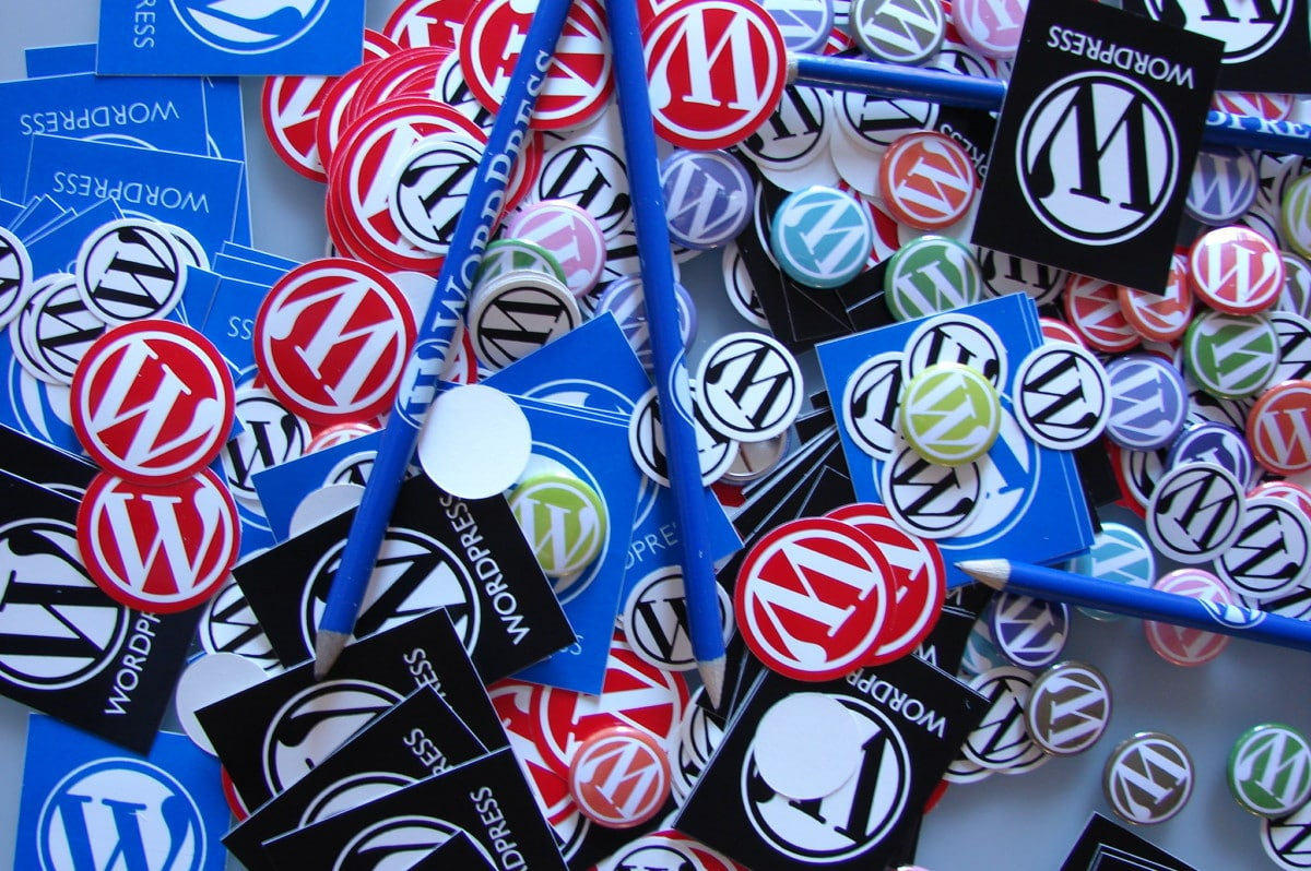 wordpress-stickers Companies Running Competitive Ads Against WordPress May Soon be Banned from Sponsoring WordCamps design tips